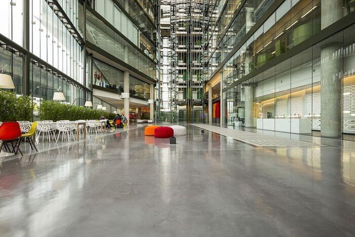 LFS Polished Concrete Floors | London Concrete Polishing Contractors