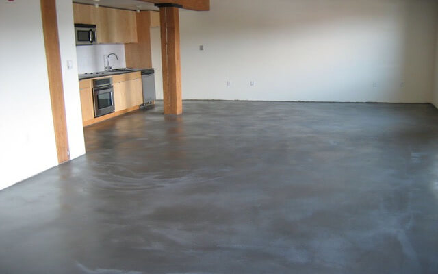 polished concrete floor kensington